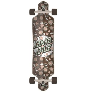 "Santa Cruz Santa Cruz Drop Through 41"" Floral decay brown"