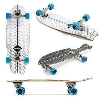 Mindless Mindless Surf Skate Fishtail 29.5 White