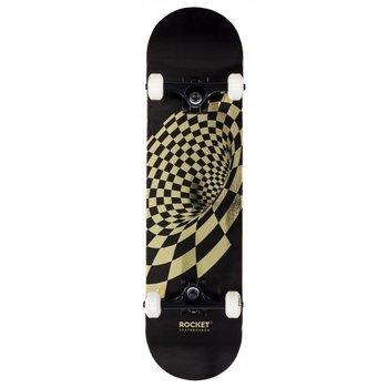 Rocket Skateboards Rocket Skateboard Vortex Foil Gold 8.0