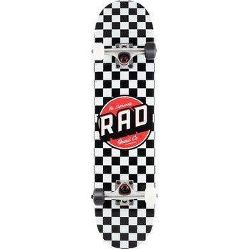 Rad Rad Dude Crew Checkers 7.75 Skateboard