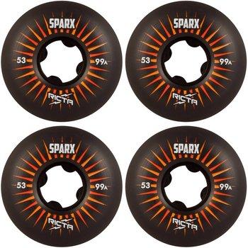 Enjoi Ricta wheels Sparx 53mm Black
