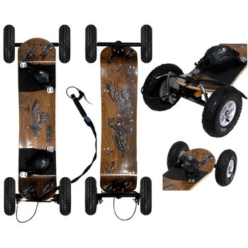 MBS MBS Comp 95X mountainboard Birds met rem