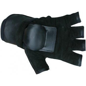 Hillbilly Hillbilly Wrist Guard Handschuhe - Halber Finger S.