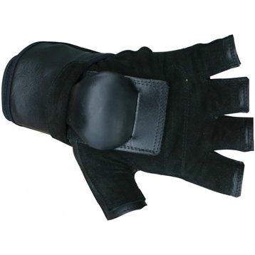 Hillbilly Hillbilly Wrist Guard Gloves - Half Finger L