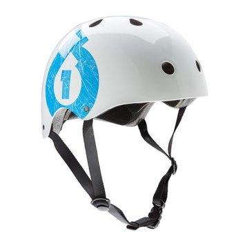 661 661 dirt lid helm white cyan