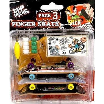 Grip &Tricks Grip and Tricks finger 3 skateboards set