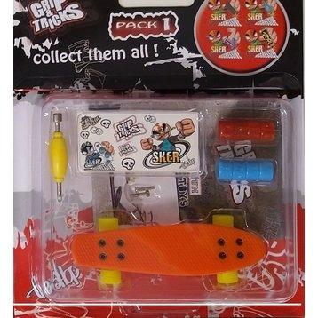 Grip &Tricks Grip and Tricks penny fingerboard Orange