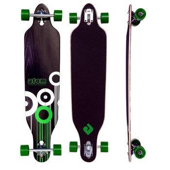 Atom Atom Drop Through Longboard 41""