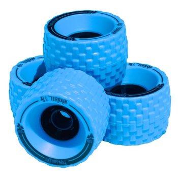 Atom MBS all terrain wheels 100mm blauw