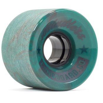 Mindless Mindless cruiser wielen 60mm swirl teal