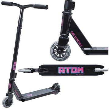 Grit Grit Atom Stuntstep Black