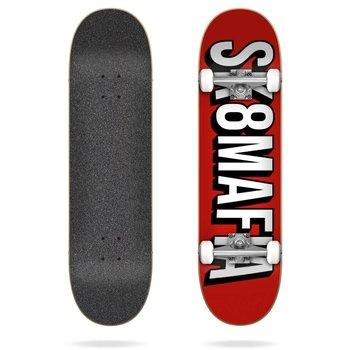 Sk8Mafia Sk8Mafia skateboard 7.75 Flix Red