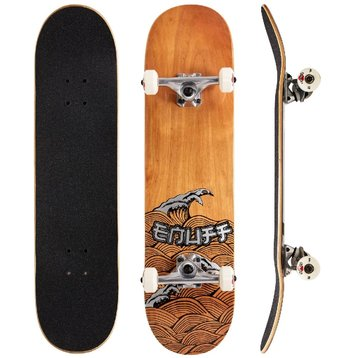 Enuff Enuff Skateboard 8.0 Big Wave Brown