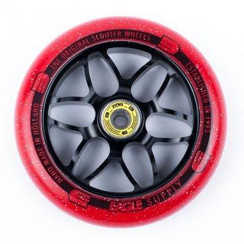 Eagle Supply Eagle Supply wheel 120mm Black Red