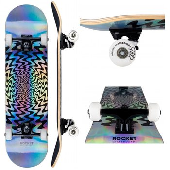 Rocket Skateboards Rocket Skateboard Warp Foil 8.0