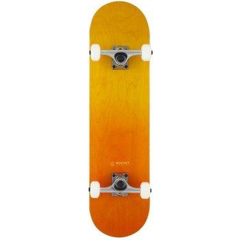 """Rocket Skateboards Rocket Skateboard - Double dipped Orange 8"""""""