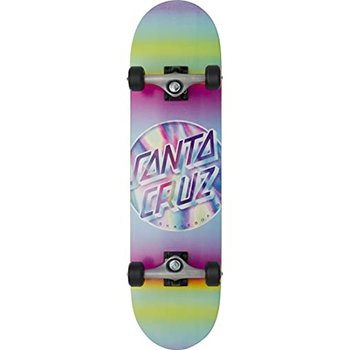 Santa Cruz Santa Cruz Iridescent Dot Skateboard Pink Purple 8.0