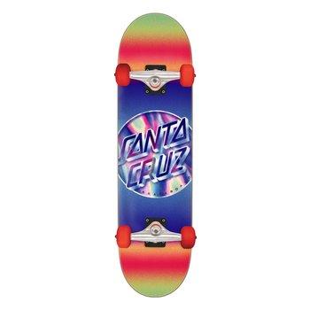 Santa Cruz Santa Cruz Iridescent Dot Skateboard Red Purple 8.25