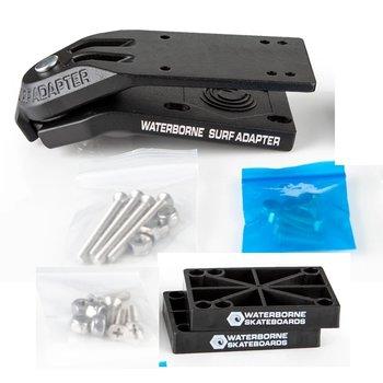 Waterborne Waterborne Skateboard surf adapter black