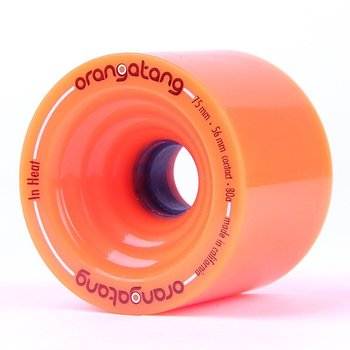 Orangatang Orangatang in Heat wielen 75mm Orange