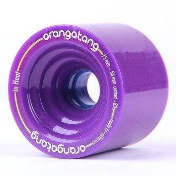 Orangatang Orangatang in Heat wielen 75mm Purple