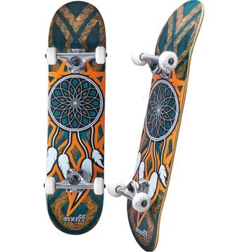 Enuff Enuff Dreamcatcher Orange/Teal skateboard