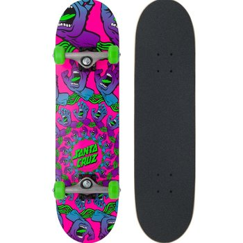 Santa Cruz Santa Cruz Mandala Hand Mini Skateboard 7.75 Pink