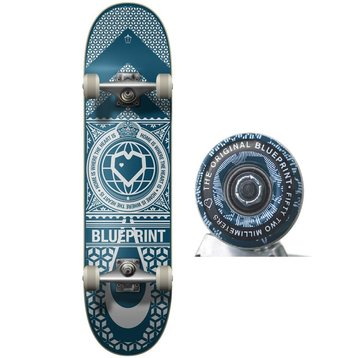 Blue Print Blueprint Home Heart - Navy/white 8.0