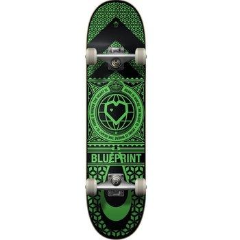 Blue Print Blueprint Home Heart - Black/Green 8.0