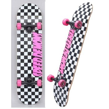 Speed demons Speed demons - Checkers Pink  7.75 skateboard