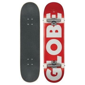 "Globe Globe - G0 Fubar Red/White 8.25"""