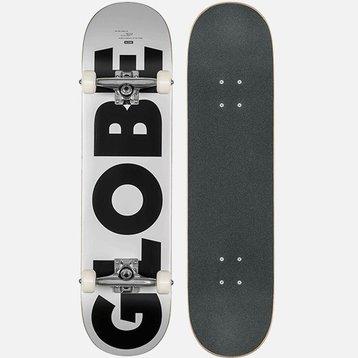 """Globe Globe - G0 Fubar White/Black 8.0"""""""