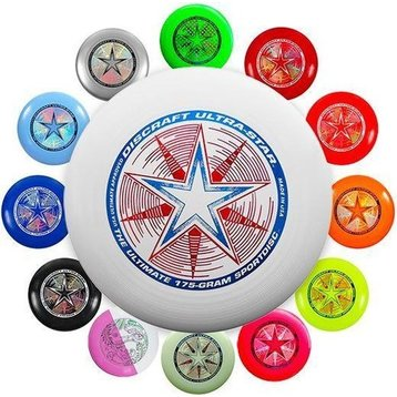 Discraft Discraft Frisbee Ultra star 175 yellow