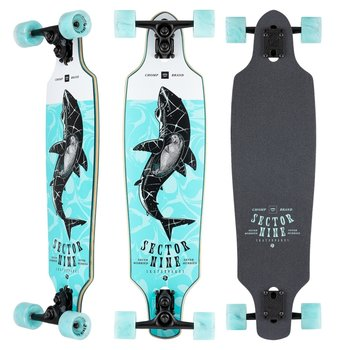 """Sector9 Sector 9 DT longboard Roundhouse Great white 34"""""""