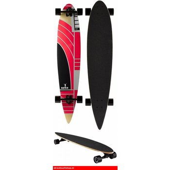 Ridge Ridge Pintail Longboard Red Rider