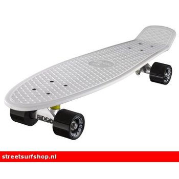 "Ridge Ridge Retro board 27"" White deck with black wheels"