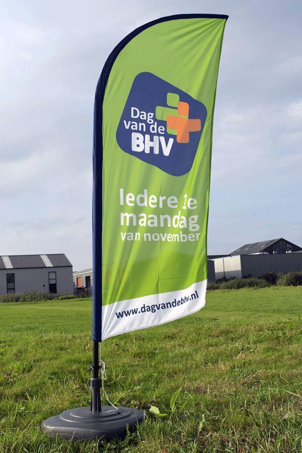 Beachflag BHV 200 x 89 cm