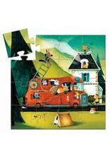 Djeco Puzzle Feuerwehr