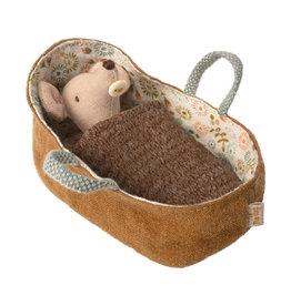 Maileg Babymaus in Trage
