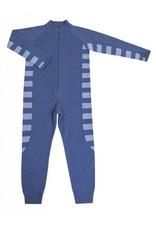 Joha Jumpsuit blau Wolle