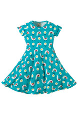 Frugi Skater Dress Frühling Lamas