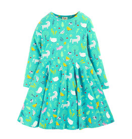 Frugi Skater Dress Bauernhof