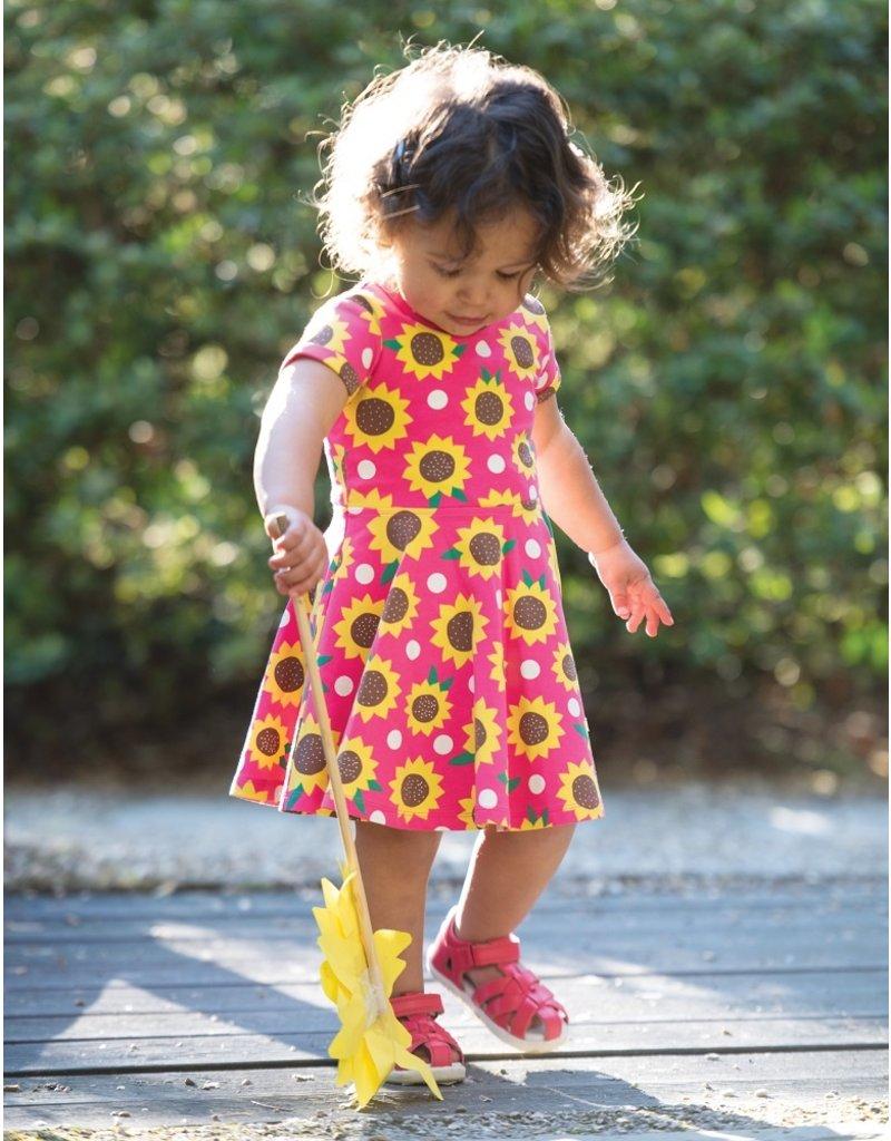 Frugi Skater Dress Sunflower