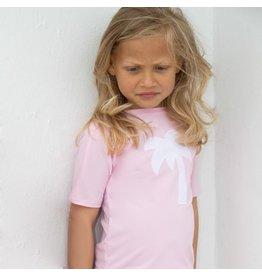 Petit Crabe UV-shirt rosa Palme 50+