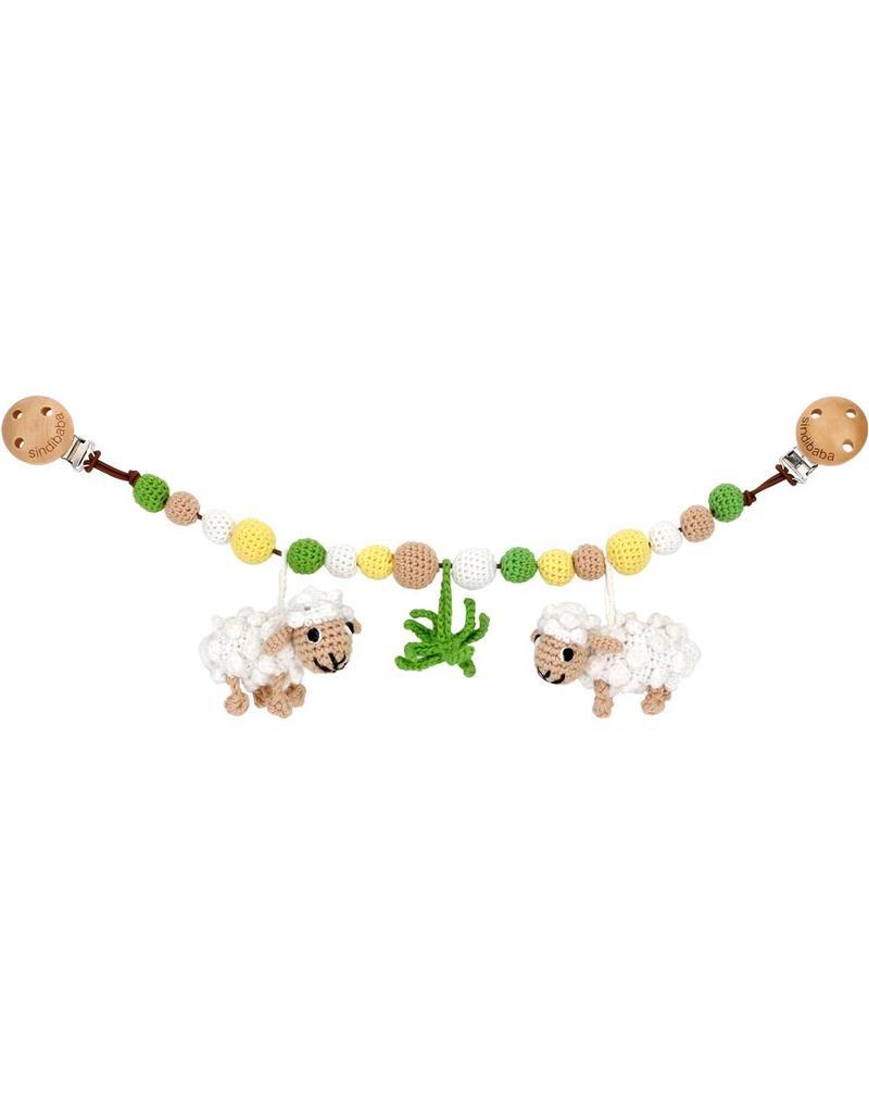 Sindibaba Kinderwagenkette Schafe
