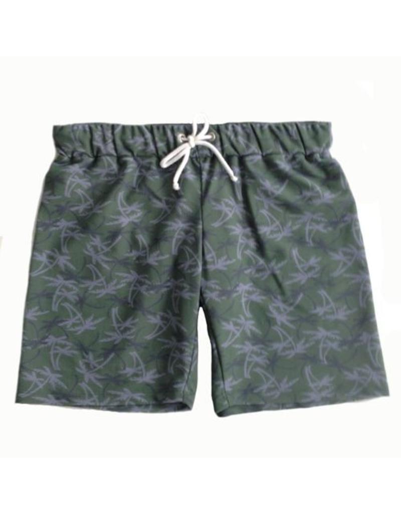 Petit Crabe UV-Shorts grün Palme 50+