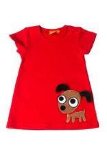 Lipfish Kleid Hündchen rot
