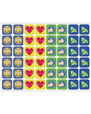 Kinderplanborden Belonen versie 2 - 48 magneetjes