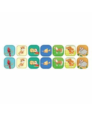 Kinderplanborden Huisdieren - 14 magneetjes