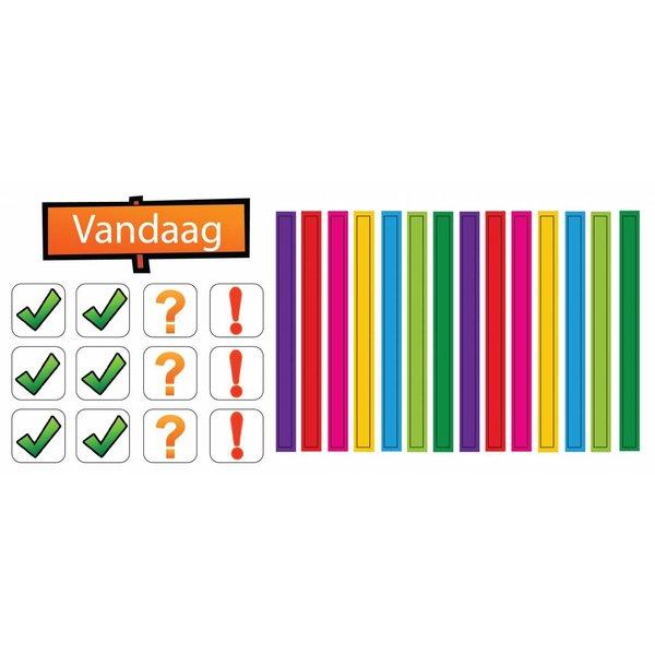Zonneroosje Dagindeling - 27 magneetjes